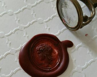Greek Goddess Fob Seal Wax Seal