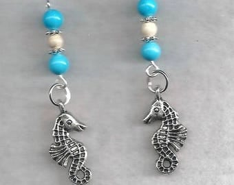 ON SALE Seahorse Earrings