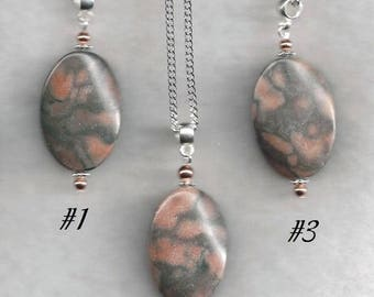 Canyon Marble Necklace