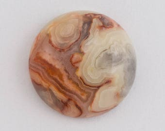 18mm Crazy Lace Agate Cabochon #SPC101