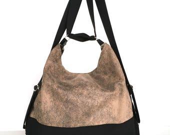 Women backpack, Convertible backpack , Backpack purse , Faux leather shoulder bag ,Shoulder purse, Vegan gifts for her ,Khaki backpack