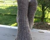 Chaussettes en laine - alpaga laine chaussettes cultivé en Michigan - taille moyen - grand cadeau pour les hommes et les femmes - de toisons de 2017