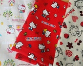 Post card planner cover  17 pocket  Erin Condren Life Planner Fabric  Planner accessory Adjustable red snap closer floral cover