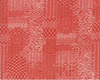 Biscuits and Gravy - You Be You in Jelly Red: sku 30484-11 cotton quilting fabric by BasicGrey for Moda Fabrics