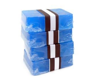 4 Natural Handmade Soap Bars, Bulk Soap, Discounted Soap, Priority Mail Upgrade