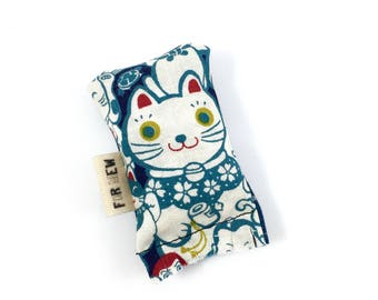 Lucky Cat Green Bean Organic Eco Friendly Catnip Cat Toy For Mew, Gift For Cat Lover