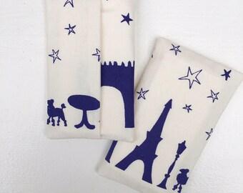 Tissueholder Paris blue
