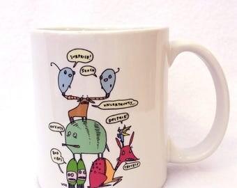 Mug for Anxious Folks - monster mug