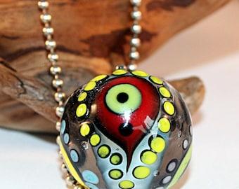 Lampwork  Art Jewelry by Jeanniesbeads #2754