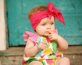Baby Pineapple Romper -  Baby Romper - Toddler Romper - Toddler Pineapple Romper -  Baby Pineapple Outfit - Toddler Pineapple Outfit -