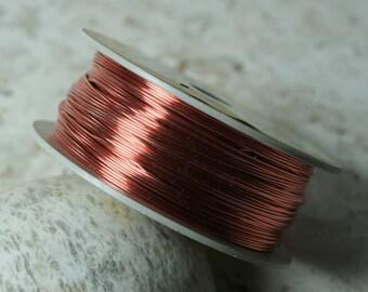 Copper wire 22g, 0.5 lb/aprox 130 ft (item ID WT22G)