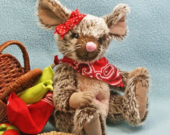 Raimey Mouse  Artist Bear Friend mohair jointed