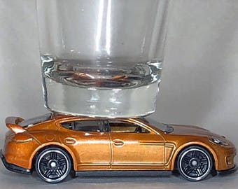 The ORIGINAL Hot Shot, Classic Hot Rods, Shot Glass, Porsche Panamera, Hot Wheel car