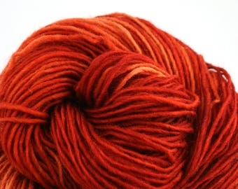 Valkill Hand Dyed DK weight NYS Wool 252 yds 4oz Spice Cake