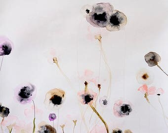 Unbroken  - Floral Watercolor Art Print