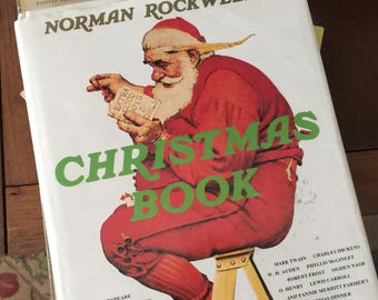 1977 Norman Rockwell's Christmas Book