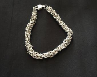 Byzantine chain mailel bracelet