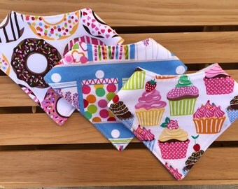 Bandana Bibs / Candy Baby Gifts Bibs /  Baby Gifts