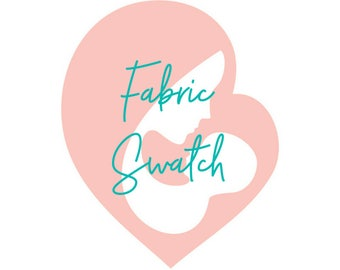 Fabric Swatch for Color Matching Your Decor