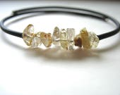 Rutilated Quartz Bracelet, Rutilated Quartz Gemstone Cuff  Bracelet Jewelry, Stone Bracelet, Handmade Jewelry, luminous creation
