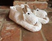 Goat Adult Animal Kritter Slippers