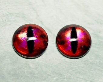Dragon irises 21mm Metallic color Stellar Magenta