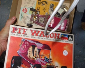 monogram model kit pie wagon