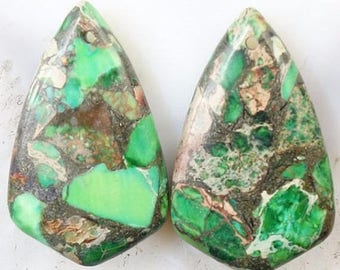 75% OFF CLEARANCE SALE multicolored Sea Sediment jasper Chalcopyrite Gemstone Pendant