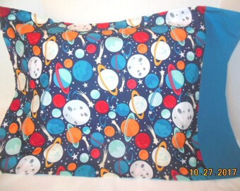Planets Pillowcase