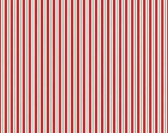 ON SALE Riley Blake Designs Kewpie Christmas - Red Stripe
