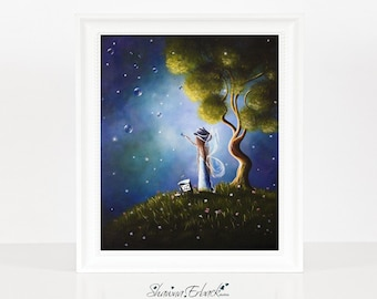 Little Possibilities - Fairy Pictures - Fairy Prints - Fine Art Print - Bedroom Decor - Home Accents - Limited Edition - 8x10 - Cowgirl