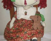 Primitive Doll Ginger Anne Pattern