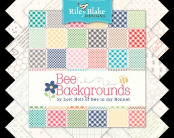 Bee Backgrounds by Lori Holt - half yard Bundle - (25 half yards)