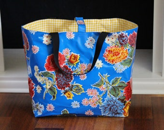 beach bag pool tote reversible washable lined extra large