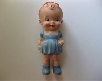 Vintage Rubber Doll, Sun Rubber Co, Ruth E Newton