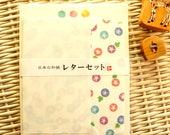 Kawaii Japanese Letter Set - Washi Paper - Morning Glory