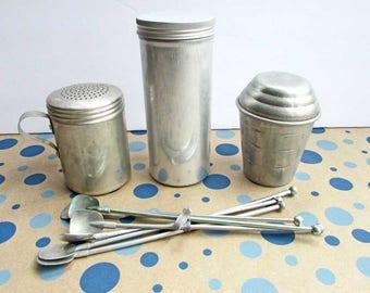 Marvelous Mid Century Aluminum Kitchen Gadgets, 1950u0027s Vintage Kitchen Wares, Group  Of 4 Items,