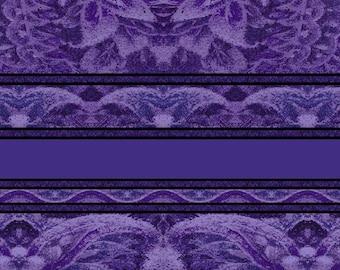 Jinny Beyer Border Basics Purple RJR Fabric