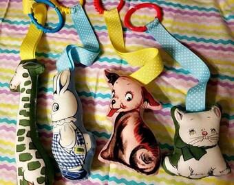 Soft Animal Infant  Toy Set