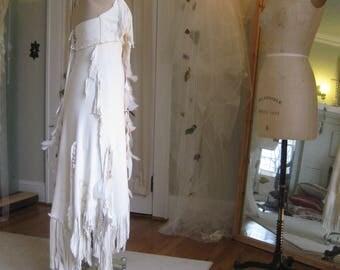 Leather Wedding Dress Native American Inspired Boho Western