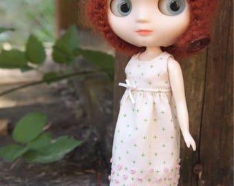 Summer Dress for Middie Blythe Dolls