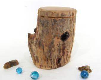 Chokecherry Driftwood Box, guitar pick box, engagement ring box, proposal box, wood art, 5th anniversary, outdoorsy gifts