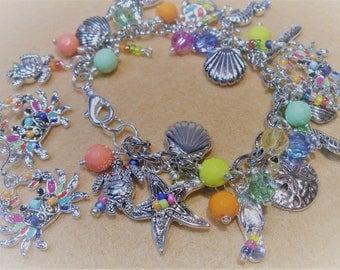 Seaside Collection Bermuda Triangle Charm Bracelet