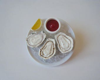 Brooch original Oyster tray ♥ ♥