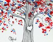 Oxford, MS, Sweetheart Tree, 8 x 10 PRINT