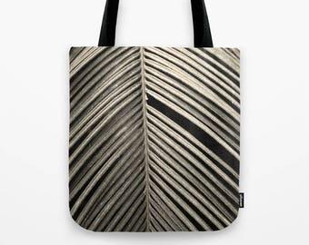 Minus One Sepia Plant Photo Tote Bag