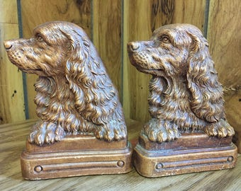 Sweet Spaniel Bookends