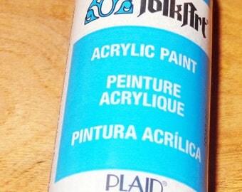 1 FolkART ACRYLIC PAINT peinture Acrylique Pintura Acrilica 2fl oz 59ml PLAID new