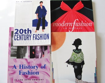 SALE 4,  20th Century Fashion History Books / 1900 - 2000 / Costume History / Modern Fashion in Detail, Japonism in Fashion