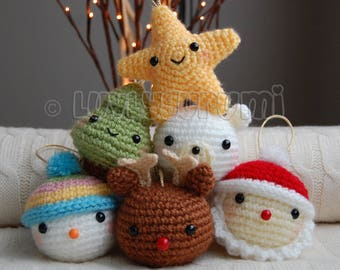 Christmas Ornaments Amigurumi Pattern